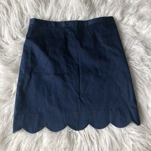Tommy Hilfiger Scalloped Skirt